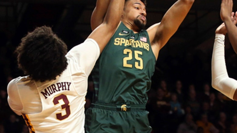 No. 2 MSU tops Minnesota 87-57 with 27 points from Jackson
