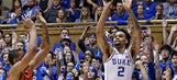 Allen, No. 12 Duke beat Virginia Tech 74-52 without Bagley