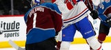Semyon Varlamov makes 43 saves, Avs beat Canadiens 2-0