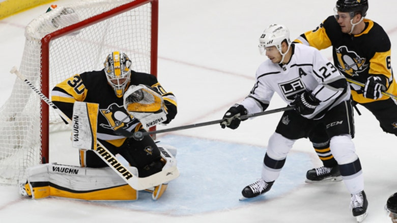 Penguins beat Kings 3-1 for 10th straight home win