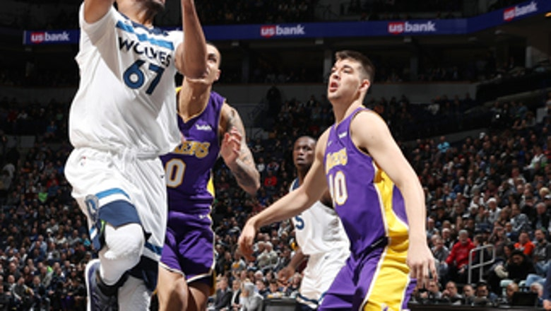 Gibson, Butler lead Timberwolves rally past Lakers, 119-111