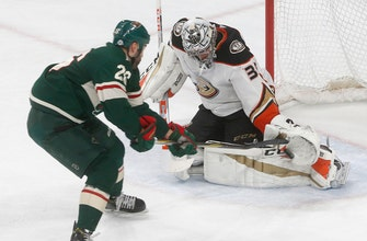 Ritchie scores in 11th round of SO, Ducks beat Wild 3-2