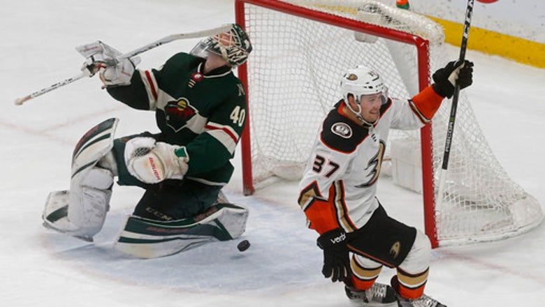 Ducks outlast Wild 3-2 in 11th round of shootout