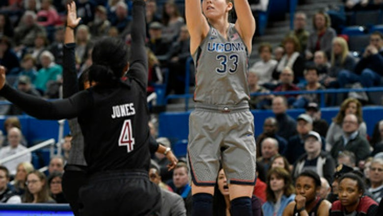 Huskies rout Temple 106-45, win 77th straight at home