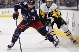 Jackets' Foligno out 1-2 weeks with lower-body injury