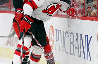 Hall scores late in OT to lift Devils past Hurricanes, 3-2