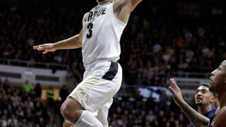 Edwards scores 27, 6th-ranked Purdue tops Penn State 76-73