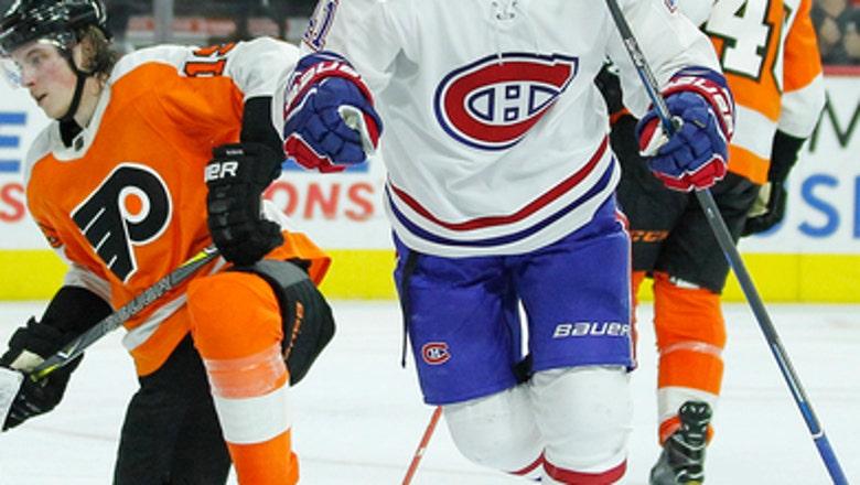 Voracek's 2 late goals rally Flyers past Canadiens in OT
