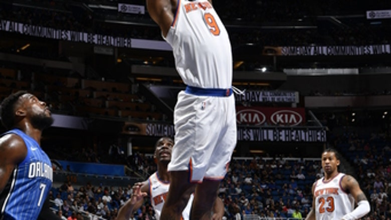 Burke leads Knicks past Magic to end 8-game losing streak