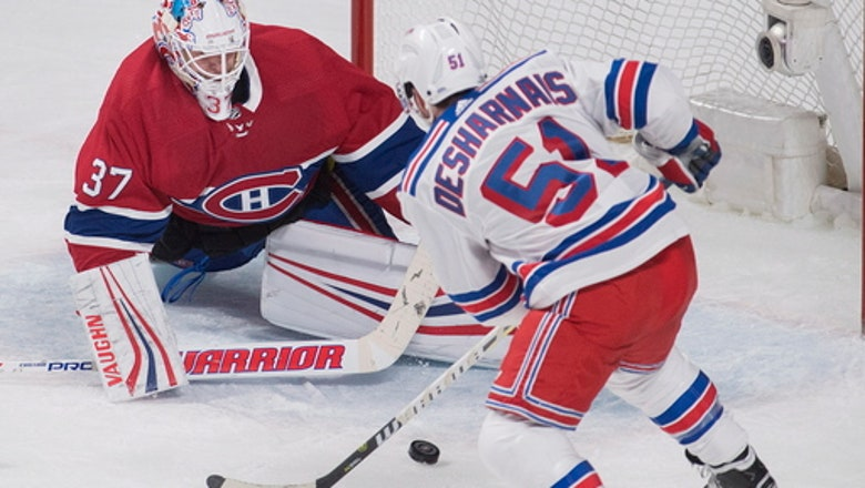 Niemi, Canadiens defeat Rangers 3-1 to snap 6-game skid