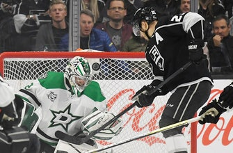 Seguin snaps scoreless tie in 3rd, Stars beat Kings 2-0