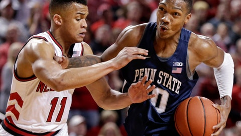 Penn State men's basketball falls to Nebraska in regular season finale