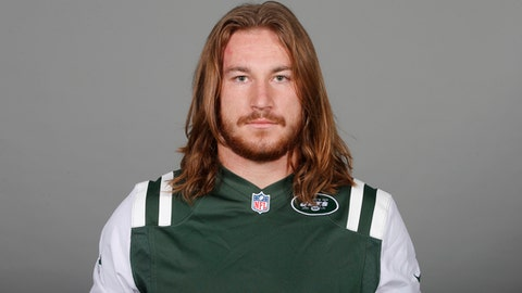 This is a 2017 photo of Dylan Donahue of the New York Jets NFL football team. This image reflects the New York Jets active roster as of Monday, June 12, 2017 when this image was taken. (AP Photo)