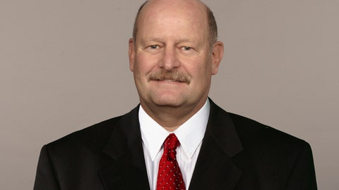 This is a photo of Brad Childress of the Kansas City Chiefs NFL football team. This image reflects the Kansas City Chiefs active roster as of Monday, June 20, 2016. (AP Photo)