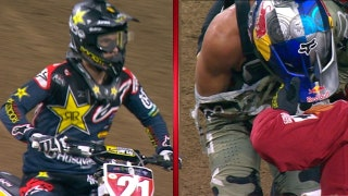 Jason Anderson captures his second straight win as Ken Roczen suffers another arm injury