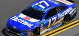 Should Ricky Stenhouse Jr. have been penalized for going below the yellow line in The Clash?