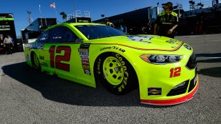 Ryan Blaney says the transition to Team Penske has been pretty seamless