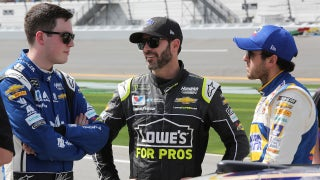 Jimmie Johnson talks about rebounding from a 'disappointing' 2017 and working with younger teammates