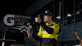 Ryan Blaney wins Duel #1 at Daytona