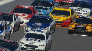 Would a NASCAR driver rather be stuck in the draft or get called to the hauler?