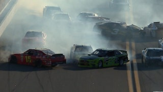 The 'big one' unfolds on penultimate lap in Daytona | 2018 NASCAR XFINITY SERIES