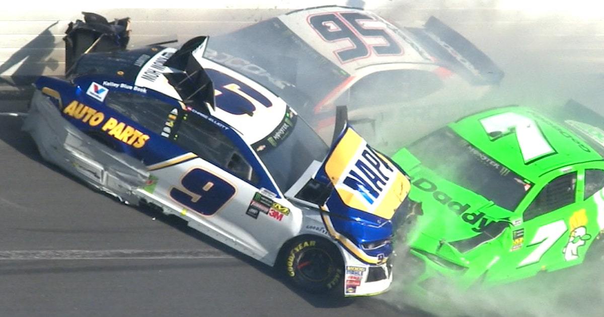 Danica Patrick\'s NASCAR career ends in violent crash that collects ...
