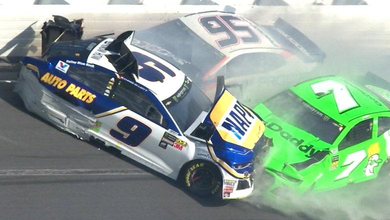 Danica Patrick's NASCAR career ends in violent crash that