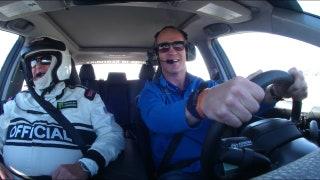 Peyton Manning drives the Daytona 500 pace car and chats with Darrell Waltrip | FOX NASCAR