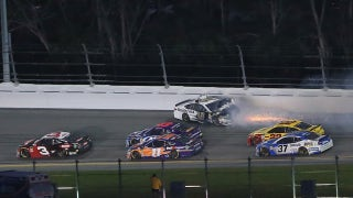 Kevin Harvick & Larry McReynolds analyze Austin Dillon's controversial last-lap move on Aric Almirola