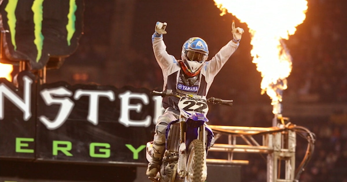 Chad Reed makes history with his 228th career start | 2018 MONSTER ENERGY SUPERCROSS