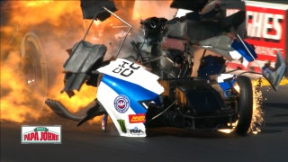 John Force transported to hospital after horrific wreck | 2018 NHRA DRAG RACING
