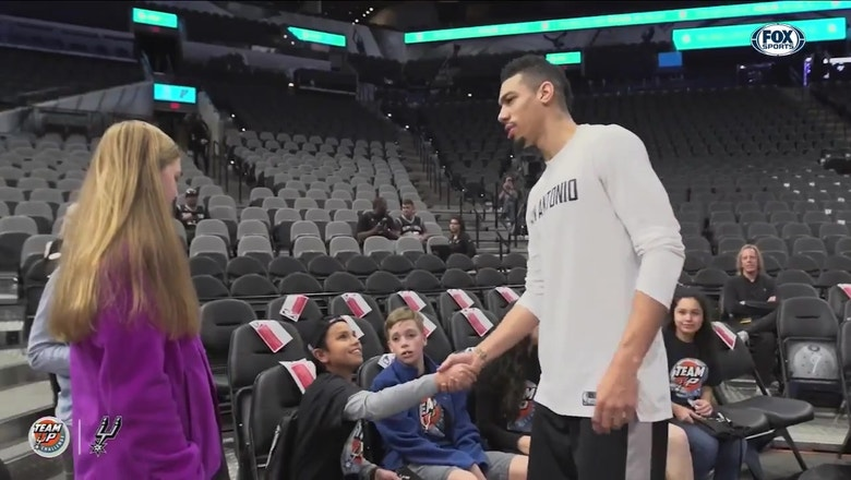 The Team Up Challenge with Danny Green | Spurs Insider