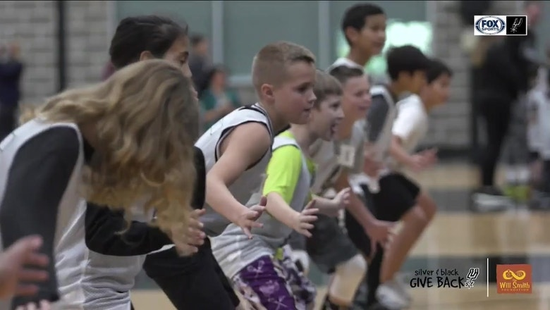 Silver and Black give back: Spur For A Day | Spurs Live