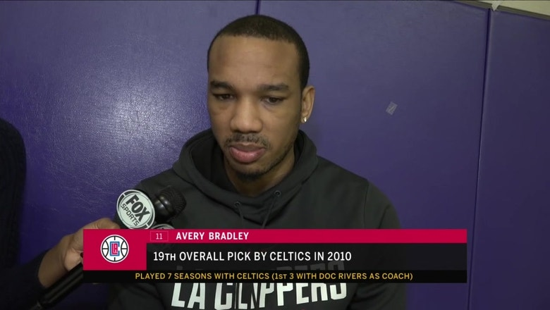 Clippers Live: Avery Bradley plays in TD Garden as a Clipper