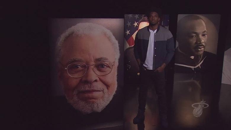 Black History Month: Justise Winslow on James Earl Jones
