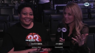 AD's Mom in Attendance at All-Star Game | Pelicans Insider