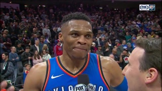 Russell Westbrook hits Game-Winning three, OKC wins