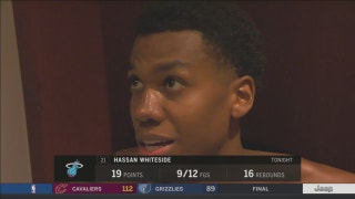 Hassan Whiteside dissects OT loss to Pelicans