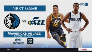 Dallas Mavericks at Utah Jazz preview | Mavs Live