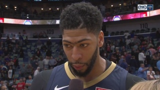 Anthony Davis scores 45 pts in win over Miami