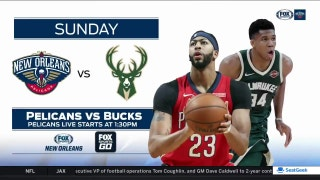 New Orleans Pelicans at Milwaukee Bucks preview | Pelicans Live