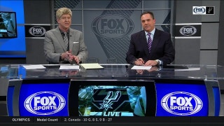 Rudy Gay Returns to the Lineup | Spurs Live