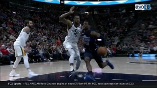 Harrison with a huge dunk in the 1st vs. Utah | Mavericks at Jazz