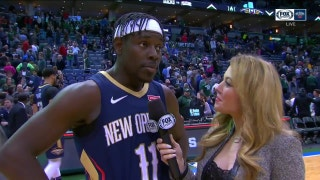 Jrue Holiday on Pels finishing off Bucks in Overtime