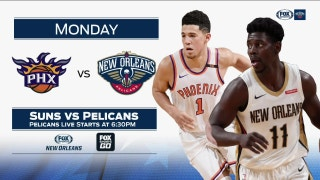 Phoenix Suns at New Orleans Pelicans preview | Pelicans Live