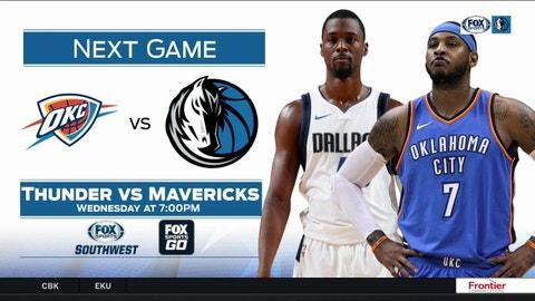 OKC Thunder at Dallas Mavericks preview  be600c948