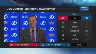 Jon Cooper: When Kucherov is on, the ice opens up for everyone