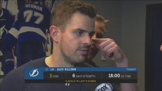 Alex Killorn: When you have depth and scoring, it helps everyone's confidence