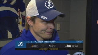 Vladislav Namestnikov: That was our best 3rd period in a while