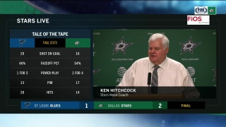 Ken Hitchcock talks 2-1 win over Blues